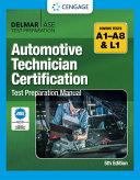 Automotive Technician Certification Test Preparation Manual PDF