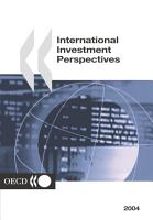International Investment Perspectives 2004 PDF