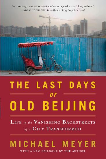 The Last Days of Old Beijing PDF