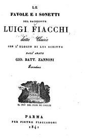 Le favole e i sonetti: con l'elogio