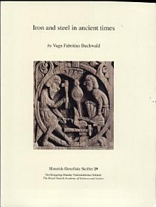 Iron and Steel in Ancient Times PDF