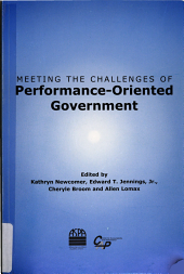 Meeting the Challenges of Performance-oriented Government