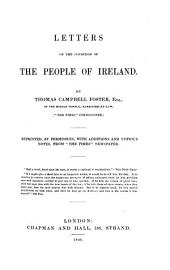 Letters on the Condition of the People of Ireland