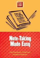 Note Taking Made Easy PDF