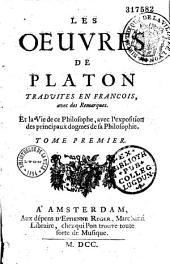 Les oeuvres de Platon