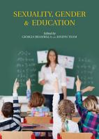 Sexuality  Gender   Education PDF