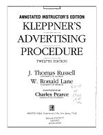 Kleppner s Advertising Procedure PDF