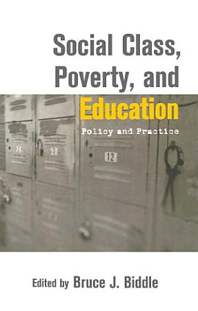Social Class  Poverty and Education PDF