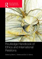 Routledge Handbook of Ethics and International Relations PDF