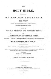 The Holy Bible, Containing the Old and New Testaments: Romans to the Revelation