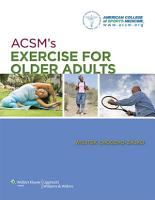 ACSM s Exercise for Older Adults PDF