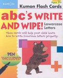 ABC's Write and Wipe!