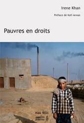 Pauvres en droits: Essais - documents