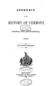 History of Vermont, Natural, Civil, and Statistical, in Three Parts, with a New Map of the State, and 200 Engravings: Volume 2