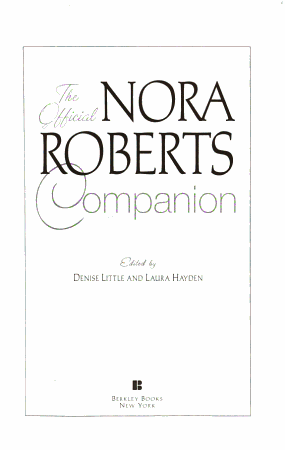 The Official Nora Roberts Companion PDF