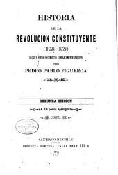 Historia de la revolucion constituyente (1858-1859)