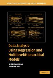 Data Analysis Using Regression and Multilevel Hierarchical Models PDF