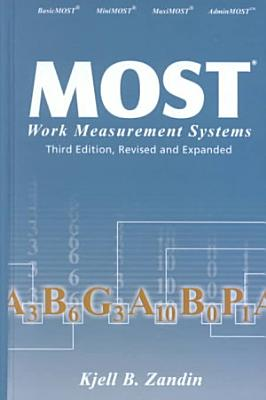 MOST Work Measurement Systems  Third Edition  PDF