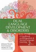 Dual Language Development and Disorders PDF