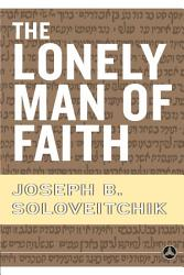 The Lonely Man Of Faith Book PDF