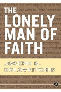 The Lonely Man of Faith Book