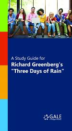 A Study Guide for Richard Greenberg's
