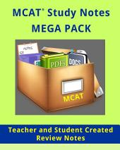 MCAT Study Review Notes - MEGA PACK 900 Pages