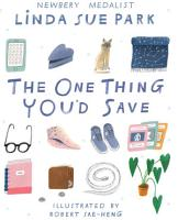 The One Thing You d Save PDF