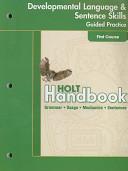 Holt Handbook  Grade 7 PDF