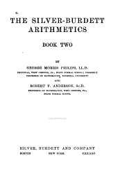 The Silver-Burdett Arithmetics: Book one-[three], Book 2