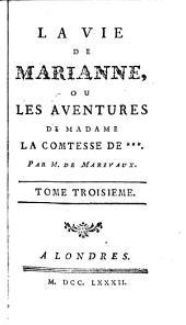 LAVIE DE MARIANNE OU LES AVENTURES DE MADAME LA COMTESSE DE