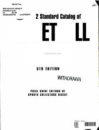 2002 Standard Catalog of Basketball Cards PDF