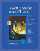 Plunkett s Consulting Industry Almanac 2007  Consulting Industry Market Research  Statistics  Trends   Leading Companies PDF