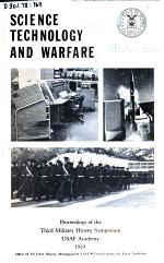 Proceeding's of the Military History Symposium, USAF Academy