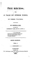 The recess  or  A tale of other times  by the author of The chapter of accidents PDF