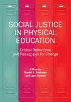 Social Justice in Physical Education PDF