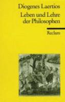 Leben und Lehre der Philosophen PDF