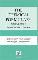 Chemical Formulary PDF