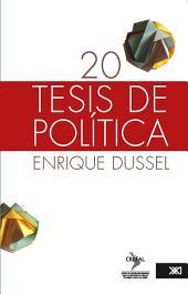 20 tesis de política