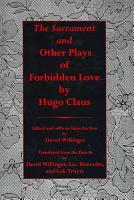 The Sacrament and Other Plays of Forbidden Love PDF