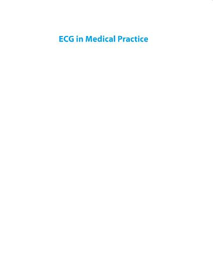 ECG in Medical Practice PDF