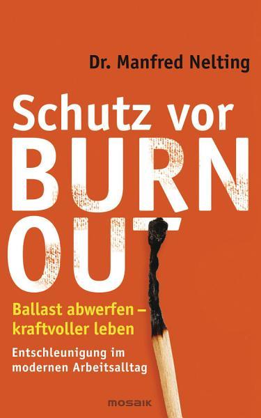 Schutz vor Burn out PDF