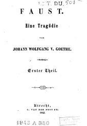 Faust: Eine Tragödie, Part 1