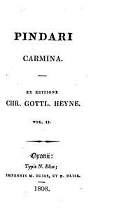 Carmina: Volume 2