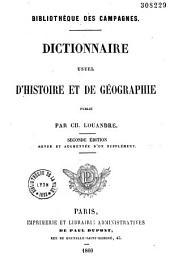 Dictionnaire usuel d'histoire et de géographie
