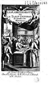 Les comptes faits ou le Tarif général de touttes les monnoyes