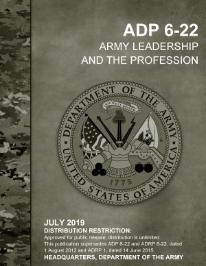 Army Leadership and the Profession  ADP 6 22