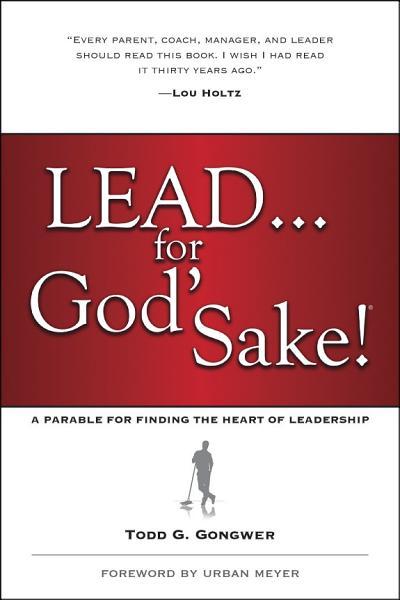 Download Lead       for God s Sake  Book