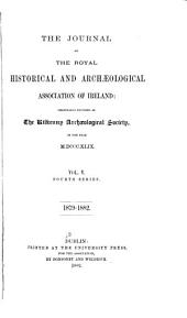 The Journal of the Royal Historical and Archaeological Association of Ireland