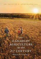 Canadian Agriculture in the 21st Century PDF